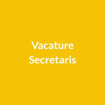 Secretaris-gezocht